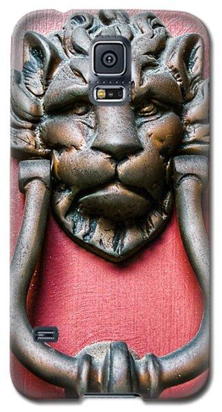 Lion Head Door Knocker Galaxy S5 Case