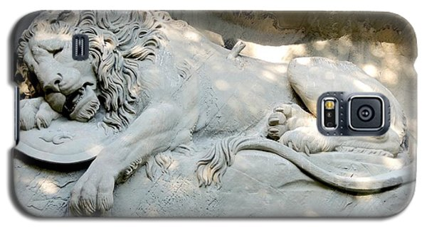 Lion Monument In Lucerne Switzerland Galaxy S5 Case