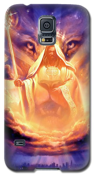 Lion Galaxy S5 Case - Lion Of Judah by Jeff Haynie