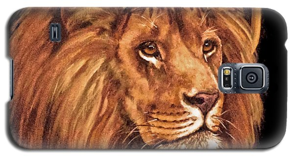 Lion Of Judah - Menorah Galaxy S5 Case