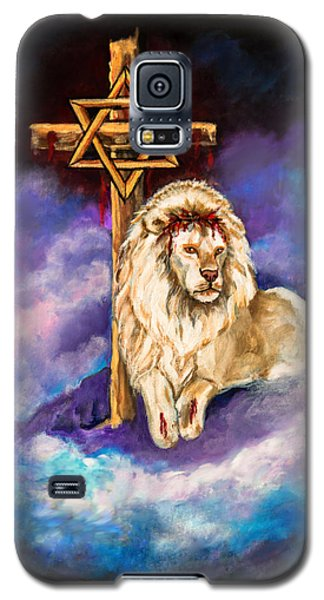 Lion Of Judah Original Painting Forsale Galaxy S5 Case