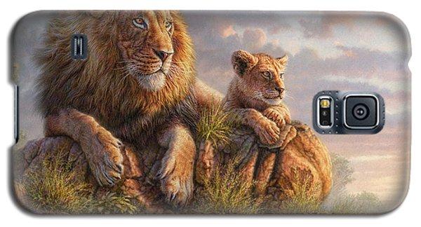 Lion Galaxy S5 Case - Lion Pride by Phil Jaeger