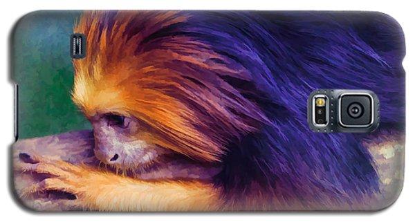 Lion Tamarin Galaxy S5 Case
