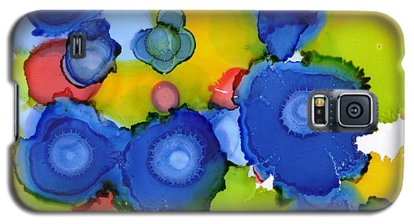 Liquid Blue Bonnets Galaxy S5 Case by Yolanda Koh