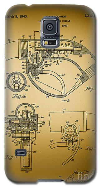 Galaxy S5 Case featuring the photograph Liquid Dispensing Nozzel Patent by JRP Photography