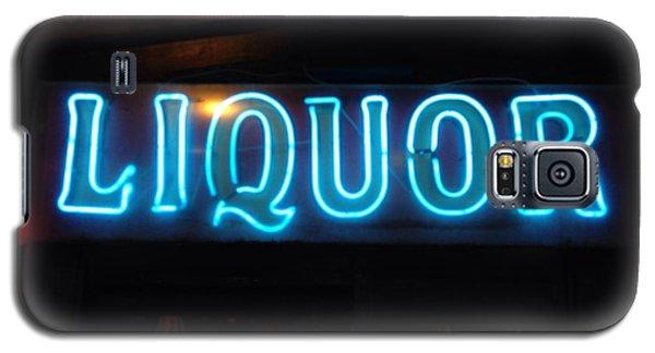 Liquor Sign In Memphis Galaxy S5 Case