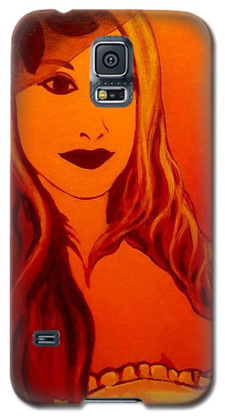 Lisa Darling II - The Irish Burlesque School Galaxy S5 Case by John  Nolan