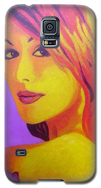 Lisa Darling IIi - The Irish Burlesque School Galaxy S5 Case by John  Nolan