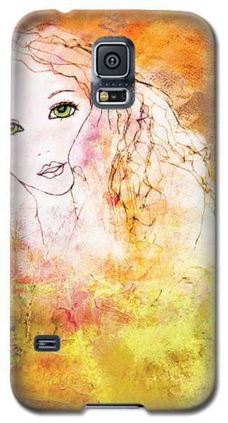 Galaxy S5 Case featuring the digital art Listen To The Colour Of Your Dreams by Barbara Orenya