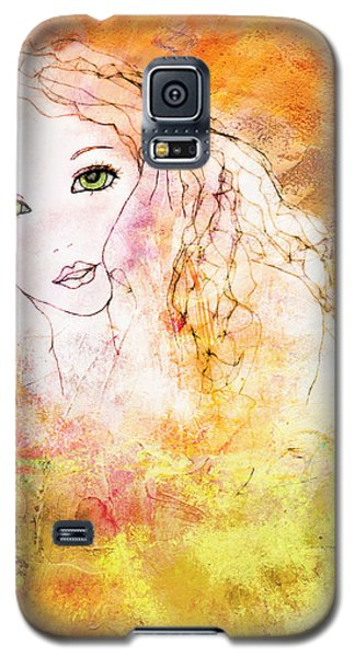 Listen To The Colour Of Your Dreams Galaxy S5 Case by Barbara Orenya
