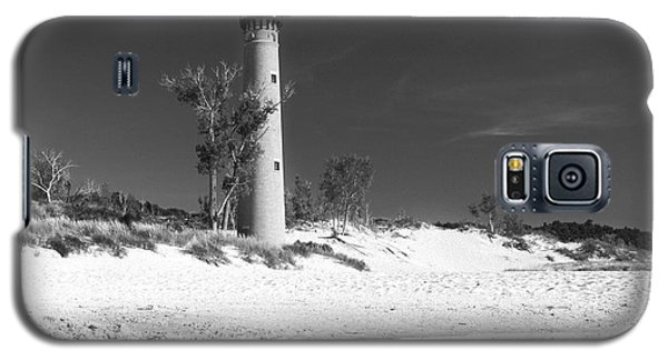 Litle Sable Light Station - Film Scan Galaxy S5 Case by Larry Carr