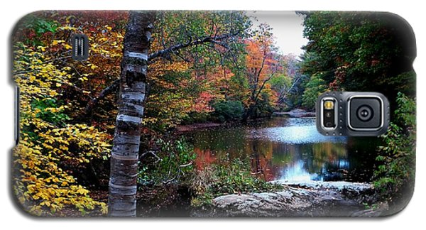 Little Androscoggin River Galaxy S5 Case by Mike Breau
