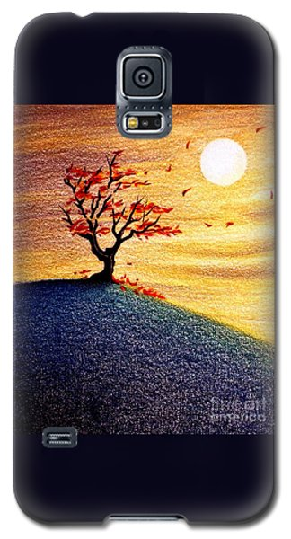 Little Autumn Tree Galaxy S5 Case by Danielle R T Haney