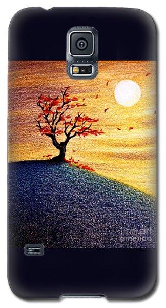 Little Autumn Tree Galaxy S5 Case