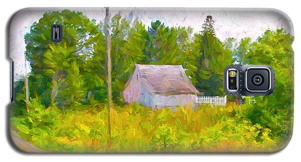 Little Barn Redone In Minnesota Galaxy S5 Case by Susan Crossman Buscho