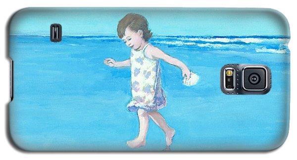 Little Beach Girl Galaxy S5 Case