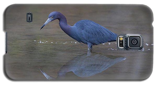 Little Blue Bubbles Galaxy S5 Case by Paul Rebmann