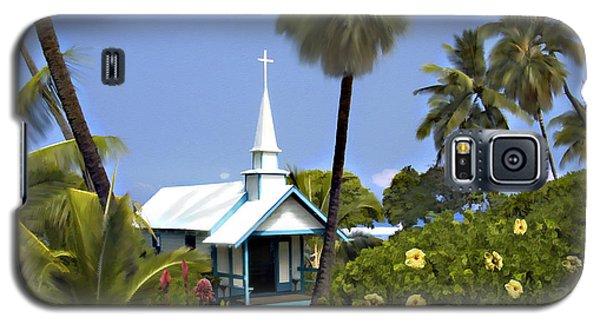 Little Blue Church Kona Galaxy S5 Case