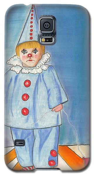 Little Blue Clown Galaxy S5 Case
