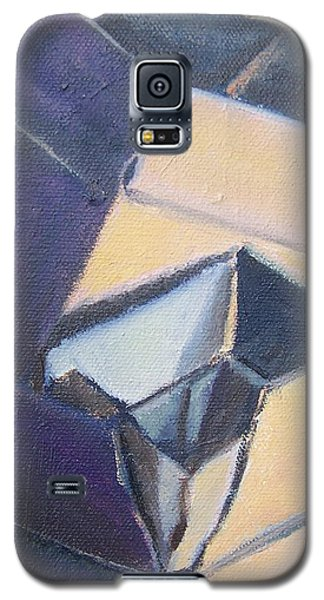 Little Boxes-yellow And Violet Galaxy S5 Case