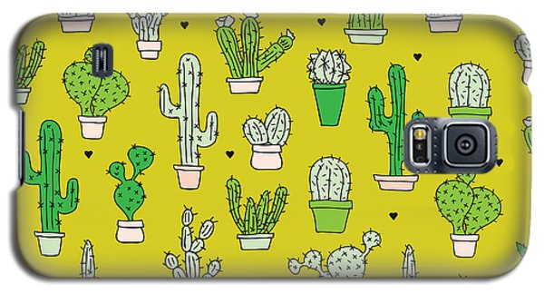 Little Cactus Botanical Garden Galaxy S5 Case by Maaike Boot