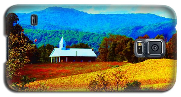 Little Church In The Mountains Of Wv Galaxy S5 Case
