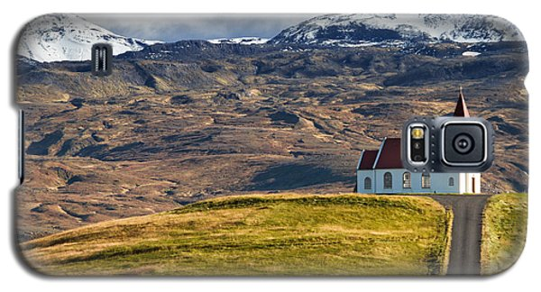Little Church On The Top Of The Hill Galaxy S5 Case