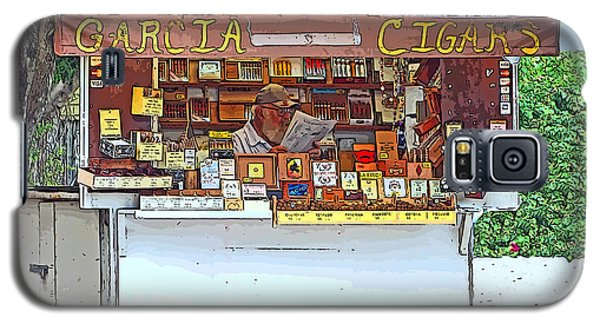 Little Cigar Shop Key West Galaxy S5 Case