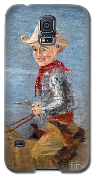 Little Cowboy - 1957 Galaxy S5 Case