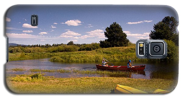 Little Deschutes River Bend Sunriver Thousand Trails Galaxy S5 Case