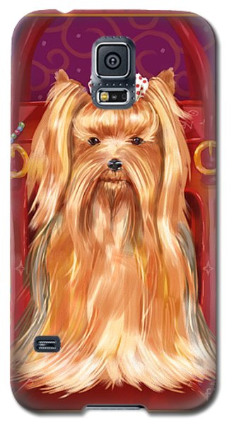 Little Dogs - Yorkshire Terrier Galaxy S5 Case