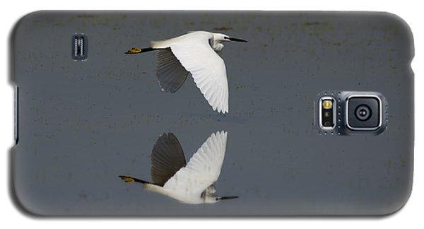 Little Egret In Flight Galaxy S5 Case