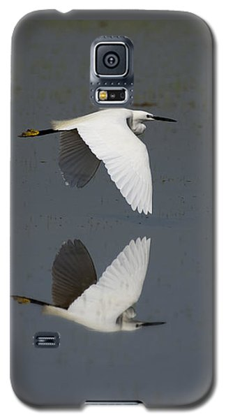 Little Egret In Flight Galaxy S5 Case