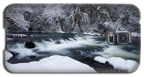 Little Fall Creek Winter Galaxy S5 Case