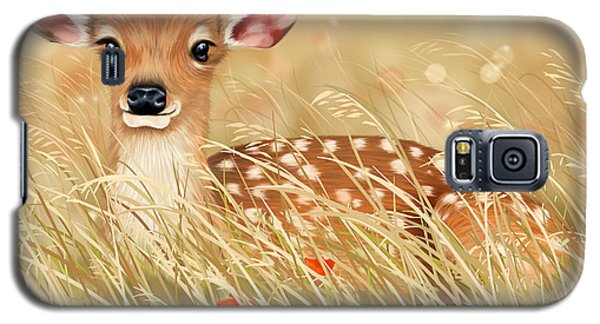 Little Fawn Galaxy S5 Case by Veronica Minozzi