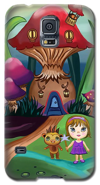 Little Girl Galaxy S5 Case by Bogdan Floridana Oana