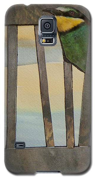 Little Green Bird Galaxy S5 Case