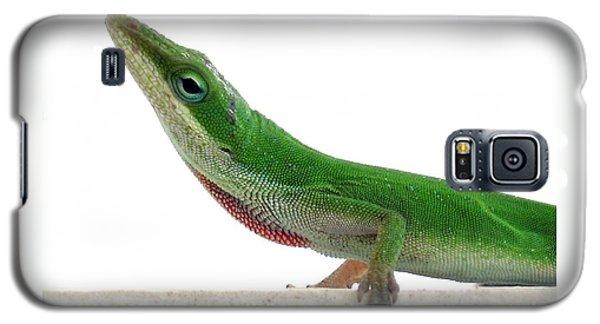 Little Green Galaxy S5 Case by Sally Simon