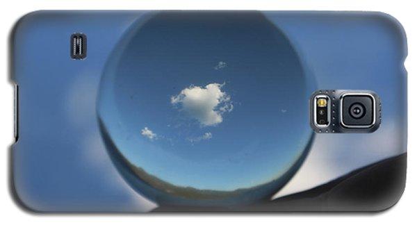 Little Heart Cloud Galaxy S5 Case by Cathie Douglas