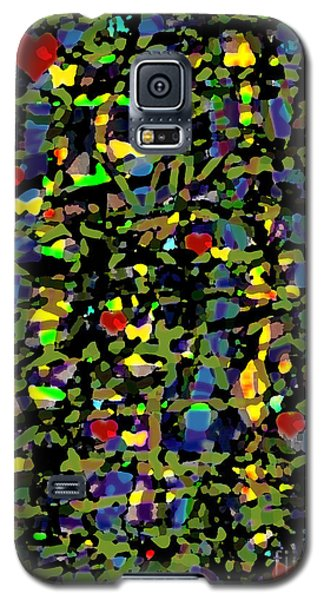 Galaxy S5 Case featuring the digital art Little Hearts by Patricia Januszkiewicz