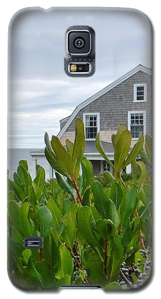 Galaxy S5 Case featuring the photograph Little House By The Sea by Jean Goodwin Brooks