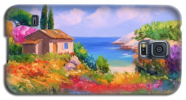 Little House By The Sea Galaxy S5 Case by Tim Gilliland