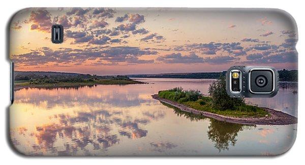 Little Island On Sunset Galaxy S5 Case