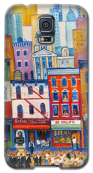 Little Italy New York Galaxy S5 Case