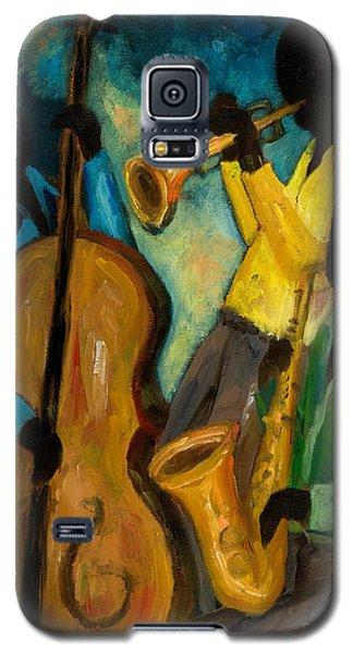 Trumpet Galaxy S5 Case - Little Jazz Trio IIi by Larry Martin