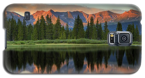 Little Molas Lake Sunset 2 Galaxy S5 Case