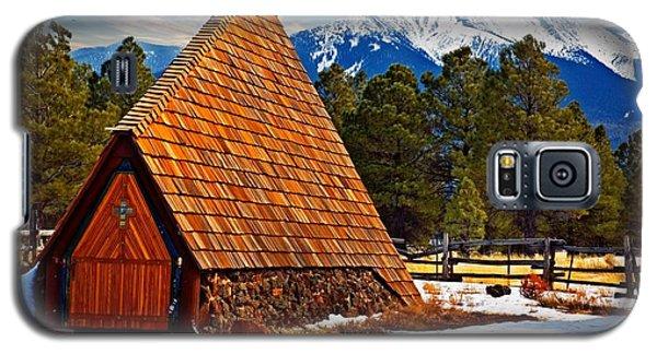 Little Mountain Church Galaxy S5 Case by Bob Pardue