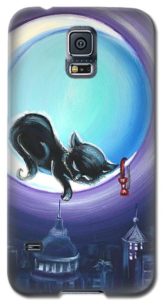 Galaxy S5 Case featuring the painting Little Nap by Agata Lindquist