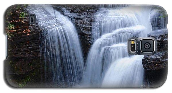 Galaxy S5 Case featuring the photograph Little Niagara by Debra Fedchin