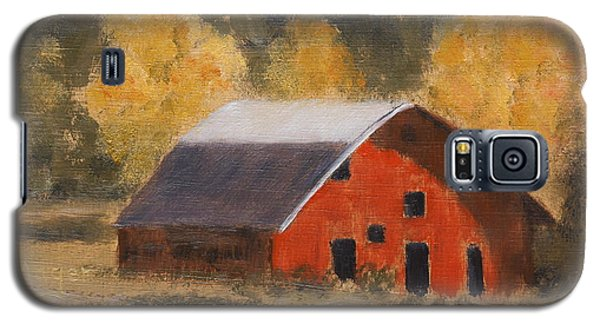 Little Old Hay Barn Galaxy S5 Case by Alan Mager